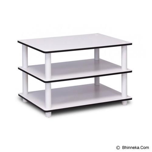FUNIKA 3 Tier Cofee Table [11173] - White - Meja Ruang Tamu